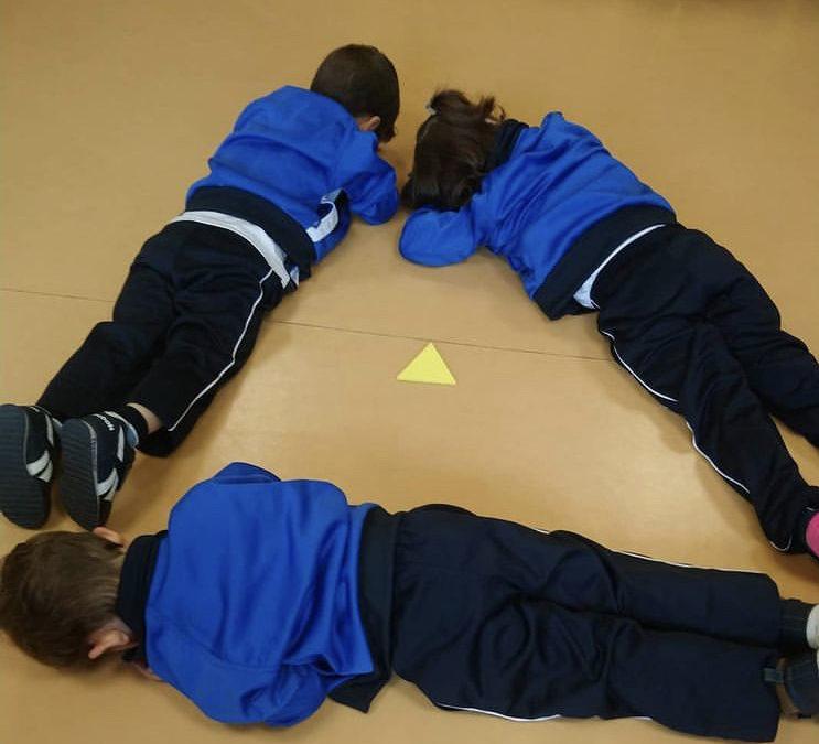 Geometría divertida en Infantil