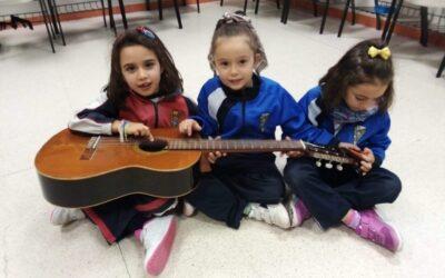Guitarra. 1º a 3º Primaria
