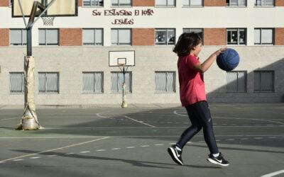 Escuela de baloncesto. 1º y 2º Primaria