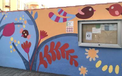 Mural entrada de Infantil