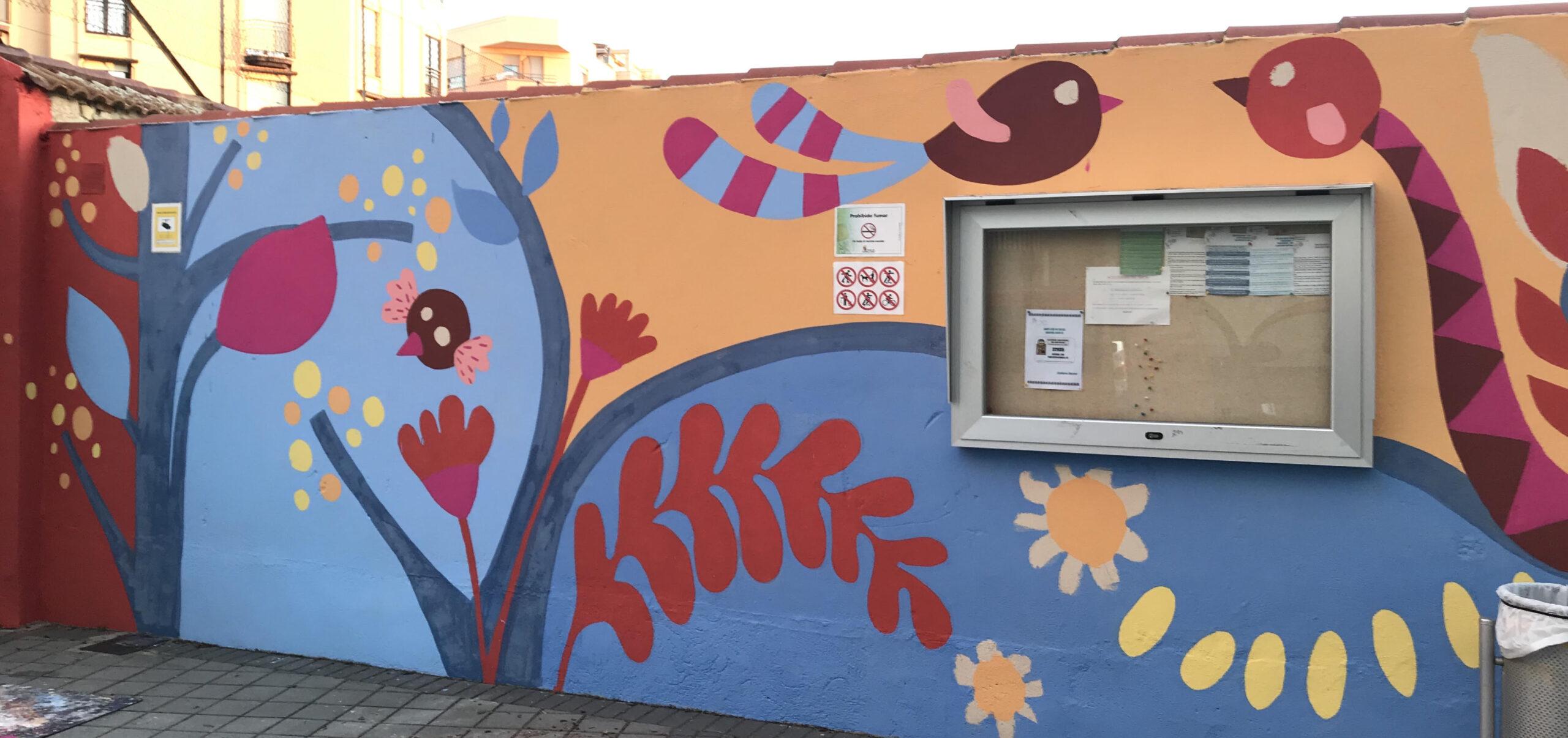 Mural entrada Infantil