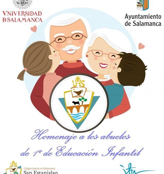 Homenaje a los abuelos de Primero de Educación Infantil