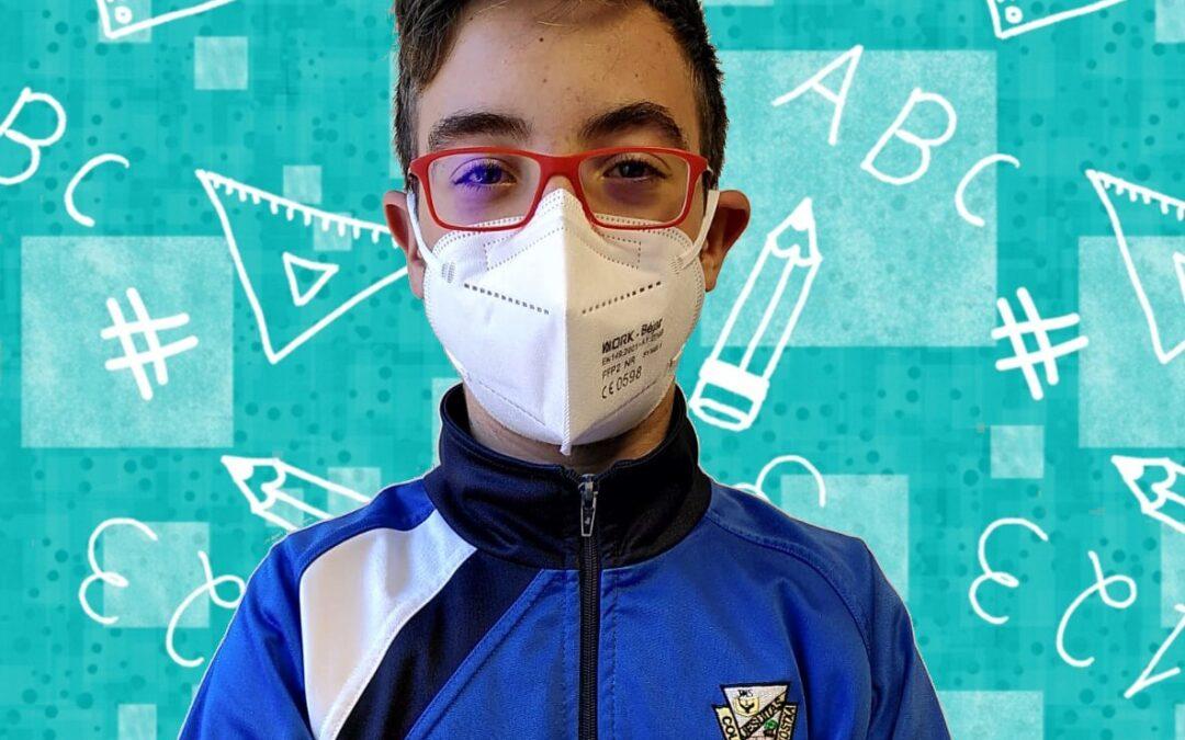 Diego Crespo Bernal entre los mejores de la Olimpiada Matemática de Salamanca