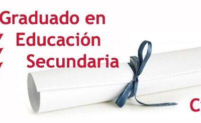 Entrega títulos graduado ESO curso 2019/2020