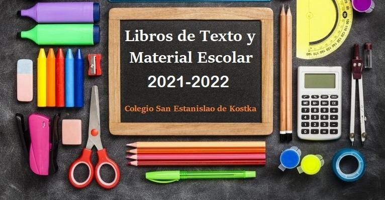 Libros de texto curso 2021-22